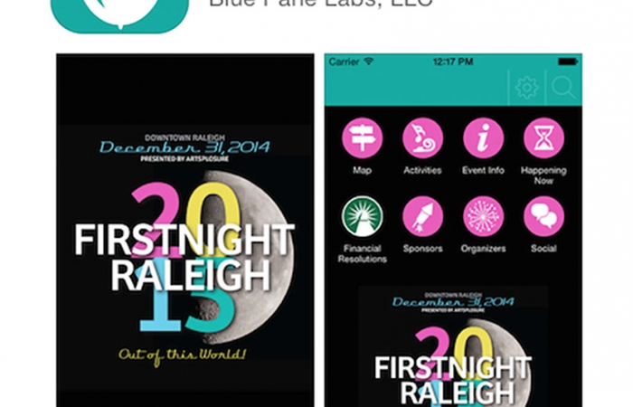 2015 First Night Raleigh App