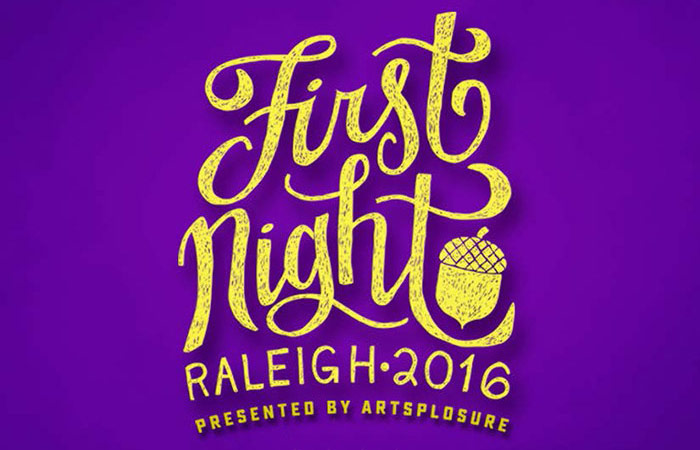 2016 First Night Raleigh Hero