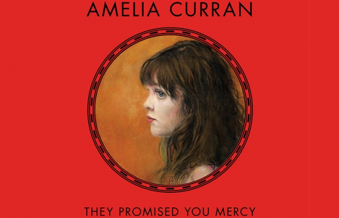 Amelia Curran Album - Red Cover With Painting Of Little Girl