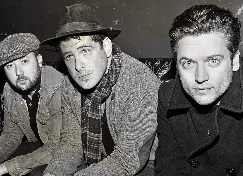 Augustines Black And White Promo Shot Of Band