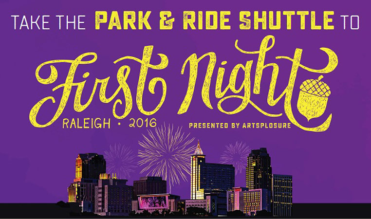 First Night Raleigh 2016 To Have Park-and-Ride With GoRaleigh Transit