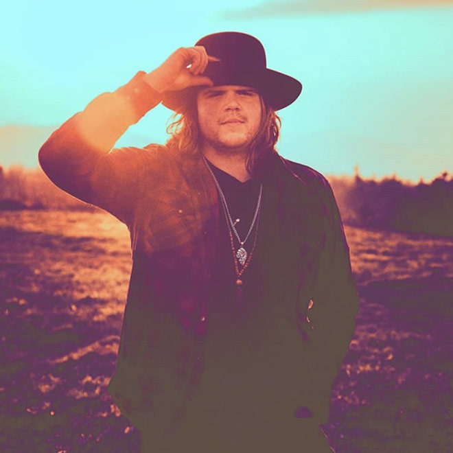 Caleb Johnson and the Ramblin Saints promo shot