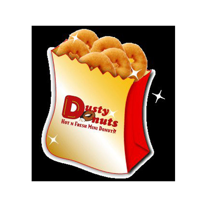 Dusty Donuts Logo